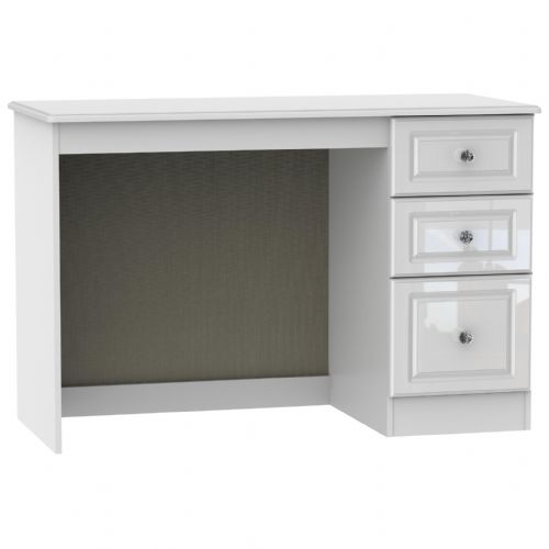 Balmoral White Gloss Desk
